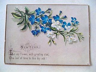 英国New Year Card