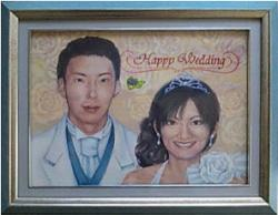 wedding 額装