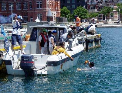 海難救助訓練①