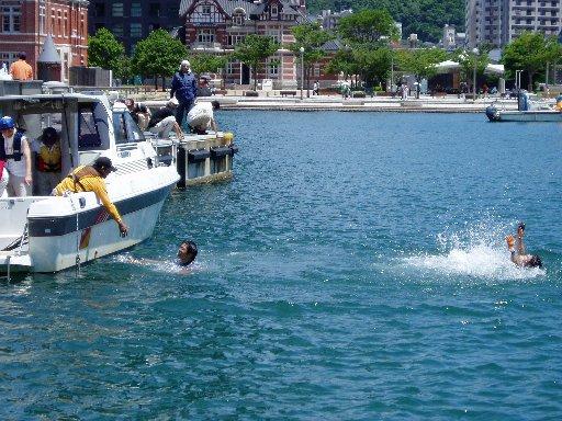 海難救助訓練②
