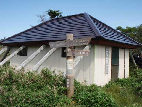 白髪避難小屋