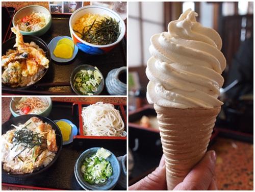 お蕎麦ソフトクリーム