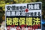 秘密保護法・反対デモ13