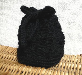 20101116巾着編み