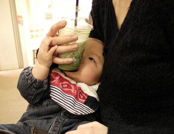 20110103抹茶とharu
