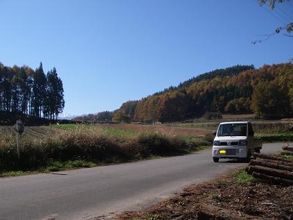 原木運び2010年 秋 その2
