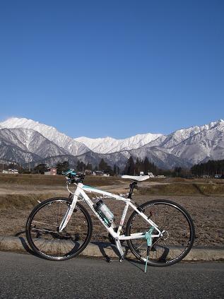 自転車(北アルプス)