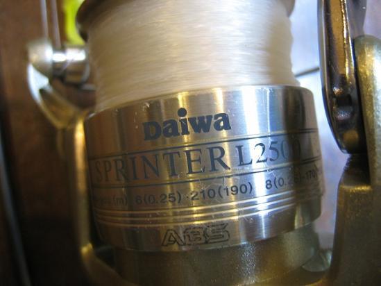 2010/ダイワ(Daiwa) スプリンターL 2500