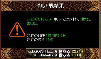 RedStone 11.03.04gv 結果