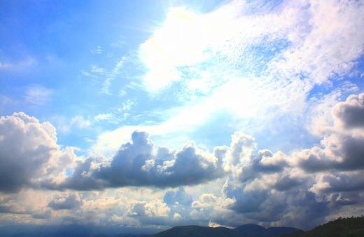 雨上がって秋の空2008