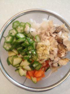 野菜ダイスカット