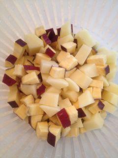サツマイモ+ジャガイモ
