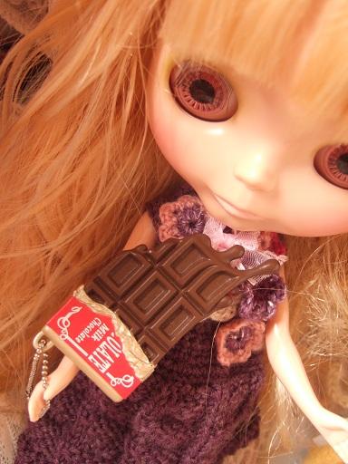 チョコとけますー