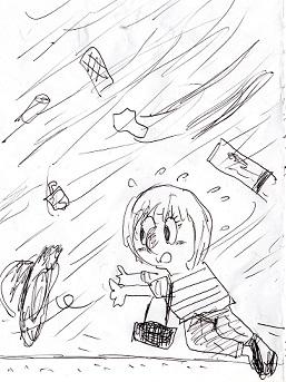 信玄の次女・台風