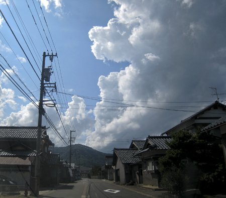 入道雲01
