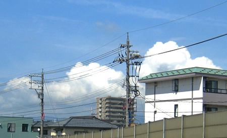 入道雲02