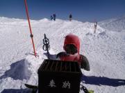 2011 蔵王山頂 お地蔵さん