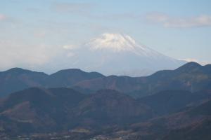 展望台からの富士