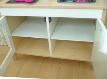 IKEAままごとキッチン収納