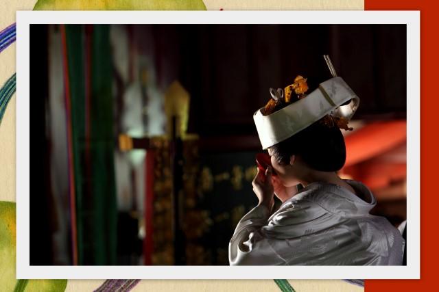弘前 岩木山神社 結婚式 挙式 スナップ 写真 撮影