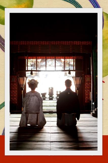 挙式 神前式 結婚式 スナップ 写真 撮影 弘前 岩木山神社