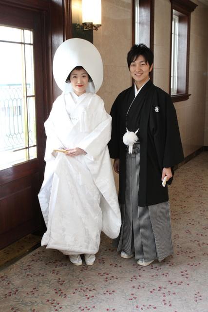 フォルトーナ 白無垢 羽織袴 結婚式