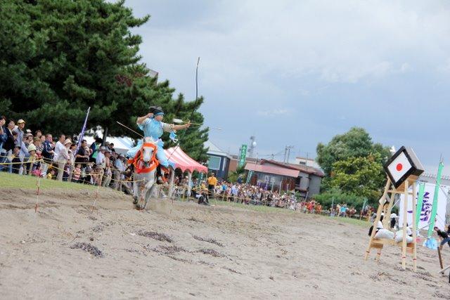 善知鳥の浜 流鏑馬大会