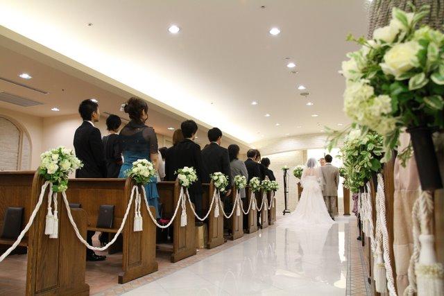 弘前 パークホテル 結婚式 チャペル スナップ 撮影