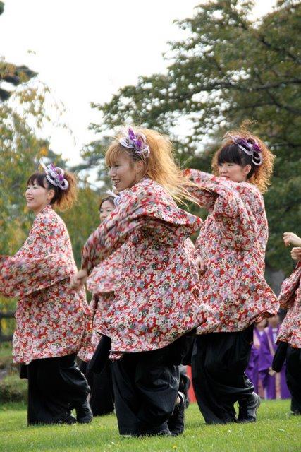 お城でYOSAKOI 2010 弘前