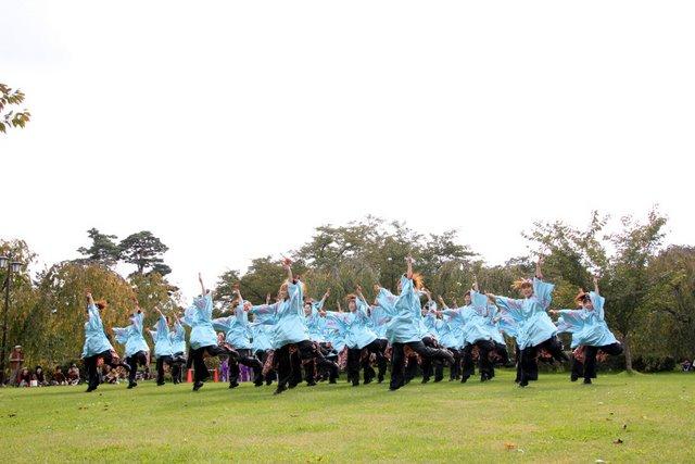 2010 弘前城 お城でYOSAKOI
