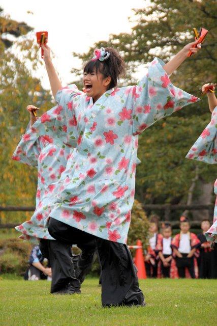 弘前城 菊と紅葉まつり 2010 よさこい