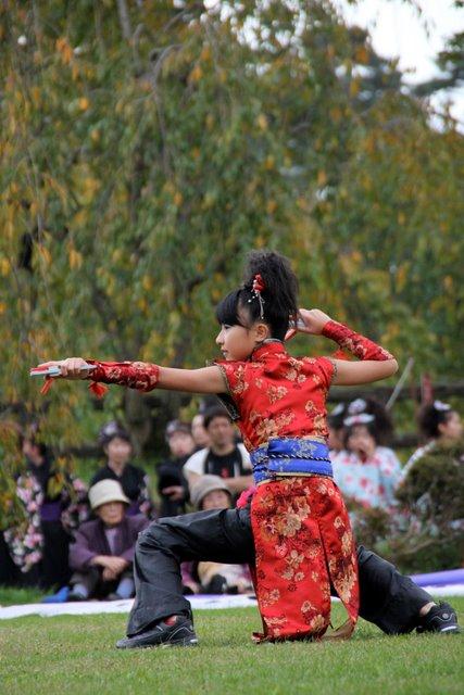よさこい 弘前城 菊と紅葉まつり 2010