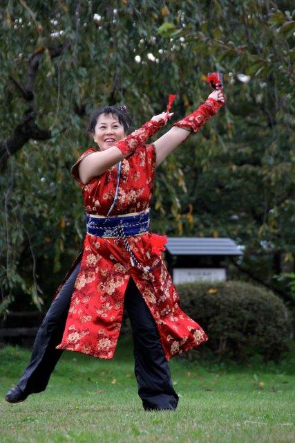お城でYOSAKOI 2010 弘前城 菊と紅葉まつり