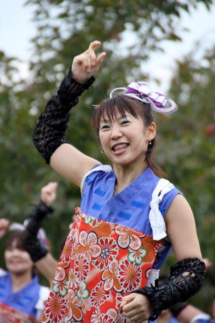 2010 お城でYOSAKOI 弘前城 菊と紅葉まつり