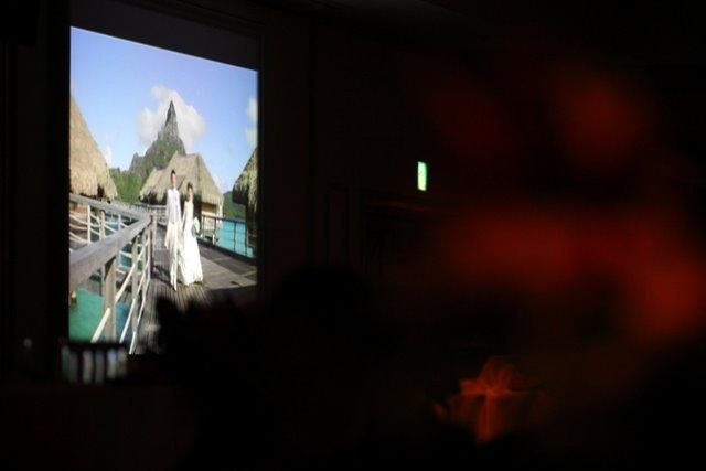 弘前 パークホテル ウェディング パーティー スナップ 写真