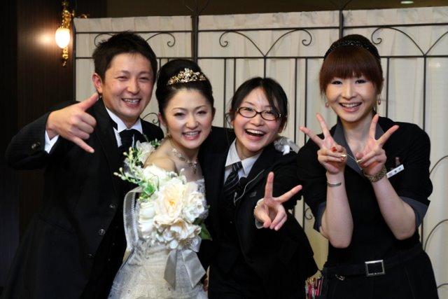 ご結婚おめでとうございます!末長くお幸せに~❤