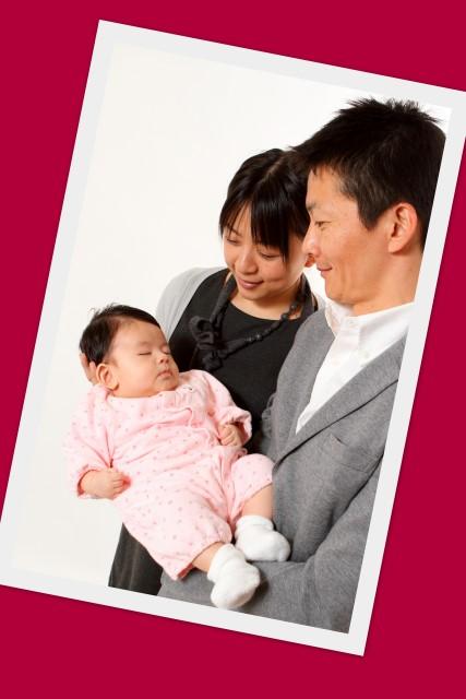 百日祝い お宮参り 記念撮影 弘前 写真 家族写真
