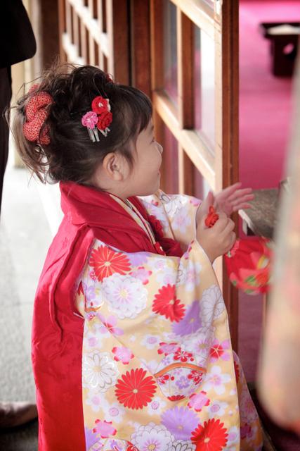 七五三 神社 出張撮影 子ども写真 ロケ 黒石 弘前 記念撮影