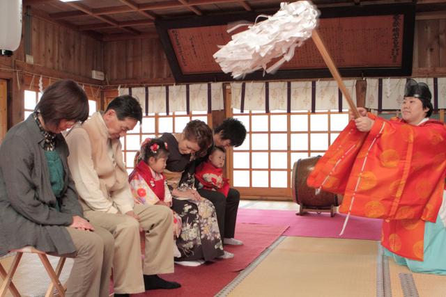 神社 出張撮影 七五三 黒石 弘前 記念撮影 子ども写真