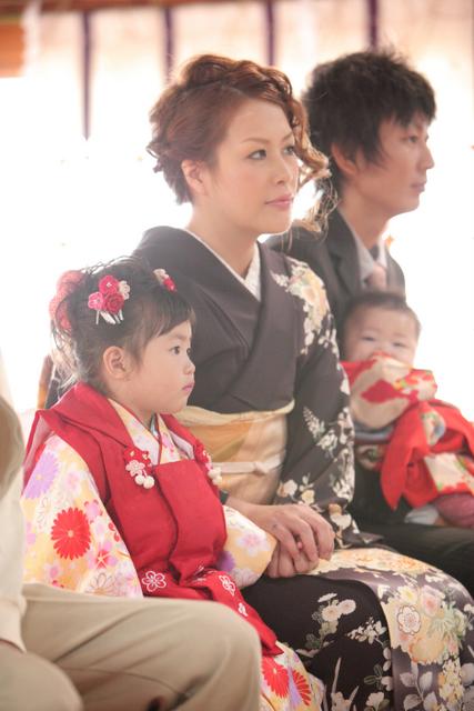 七五三 神社 出張撮影 弘前 黒石 子ども写真 記念撮影
