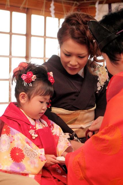 七五三 神社 出張撮影 黒石 弘前 記念撮影 子ども写真