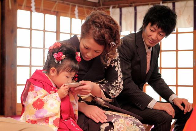神社 七五三 出張撮影 黒石 弘前 子ども写真 記念撮影