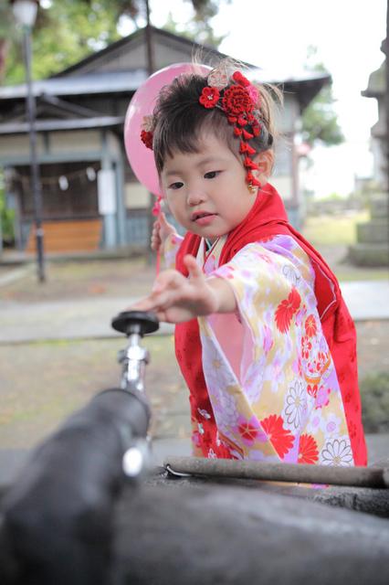 弘前 黒石 神社 七五三 出張撮影 子ども写真 ロケ