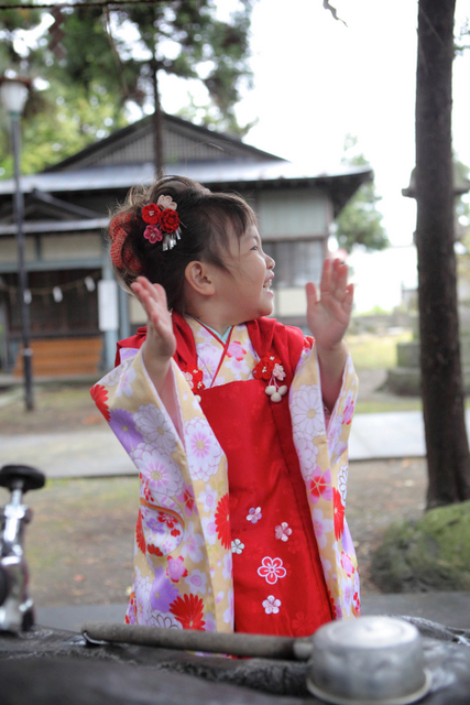 七五三 子ども写真 記念撮影 出張撮影 黒石 弘前 神社 ロケ スナップ