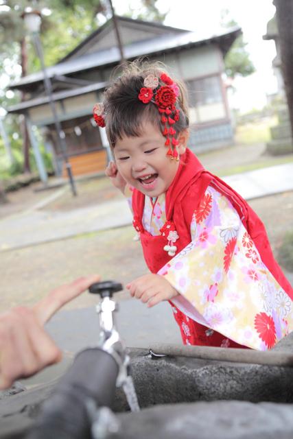 神社 出張撮影 子ども写真 記念撮影 七五三 ロケ 弘前 黒石