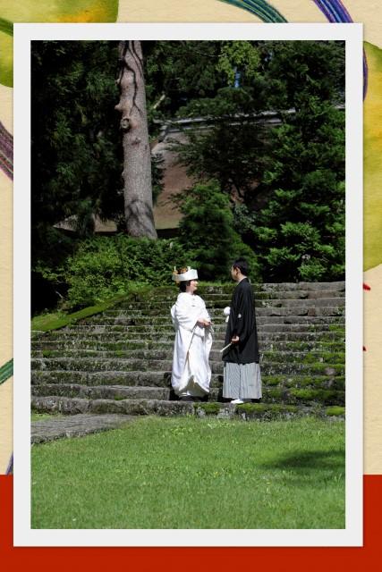 岩木山神社 結婚式 スナップ 写真 撮影 弘前 神前式
