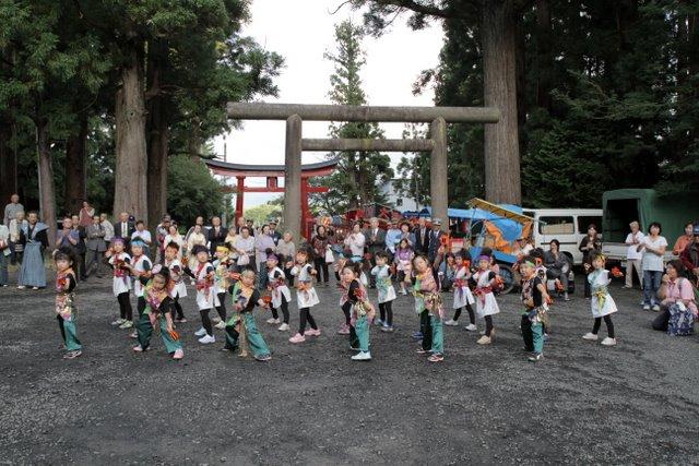 弘前市 高照神社 津軽信政公 300年祭 よさこい