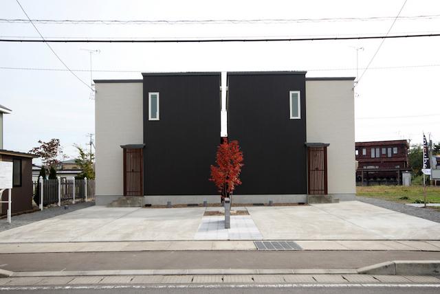 大川地建 弘前市 自由が丘 建築 写真 撮影