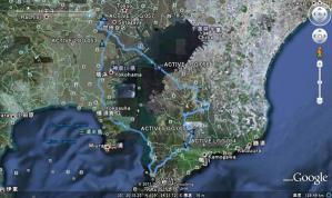 軌跡 地図