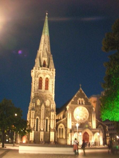 大聖堂 夜